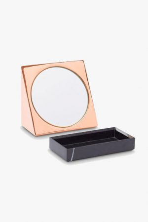 Wedge Mirror With Base