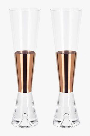 Tank Champagne Glasses x2