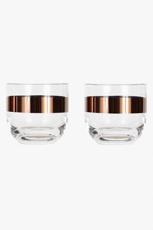 Tank Whiskey Glasses Set of 2