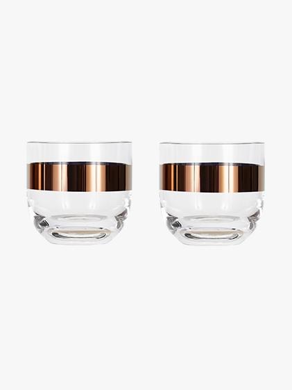 Tank Whiskey Glasses Set of 2